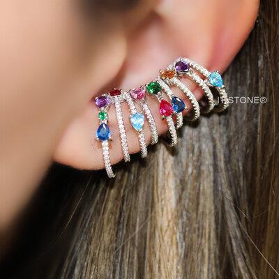 Piercing Falso Ultimate Aros Luxo Rainbow (unidade)