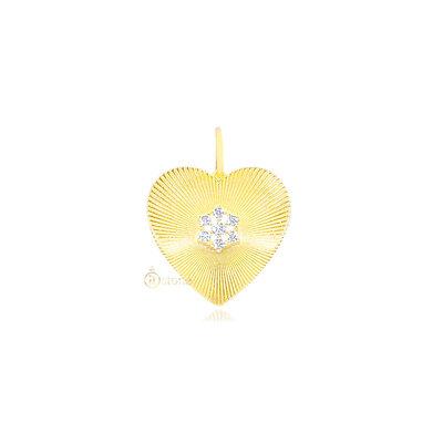 Pingente Heart Luxo Gold