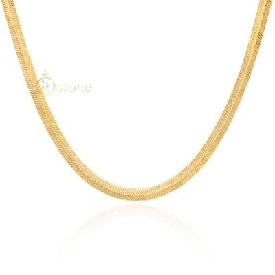 Colar Malha Thassia Gold 4MM