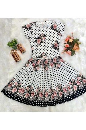 Vestido Juvenil Rosas Delicadas