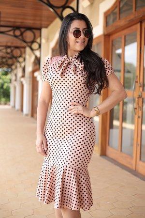 Vestido Tubinho Rosinha