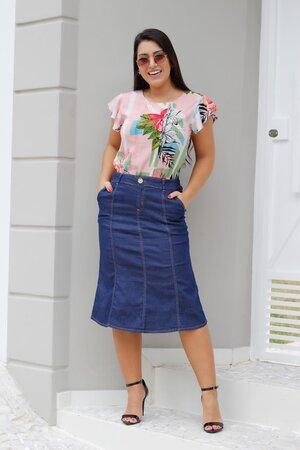 Saia Jeans Vivian