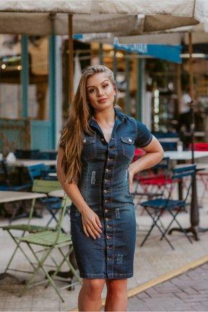 Vestido Jeans Fabi