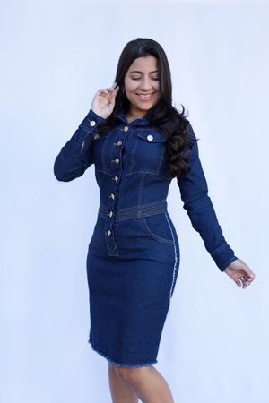 Vestido Jeans Franciele