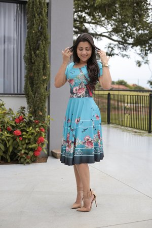 Vestido Midi Esmeralda
