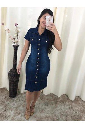 Vestido Jeans Babadinho