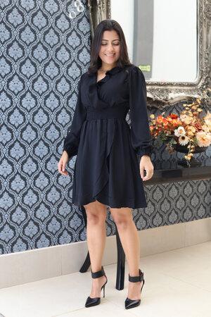 Vestido Transpassado Black