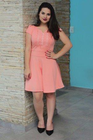 Vestido Boneca Alana