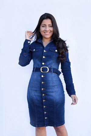 Vestido Jeans Orquidea