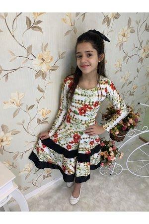 Vestido Midi Juvenil Faixa