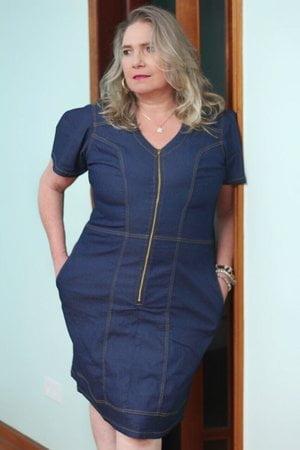 Vestido Jeans Marilia