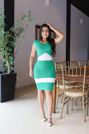 Vestido Tubinho Esmeralda