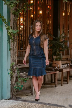 Vestido Jeans Vanessa