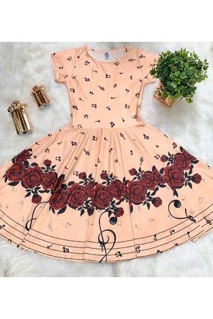 Vestido Juvenil Musical