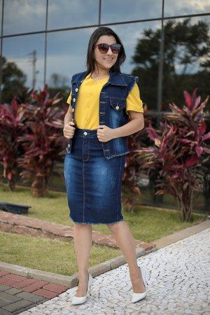 Conjunto Jeans Lua Cheia