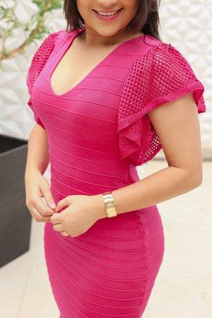 Vestido Tricot Amora