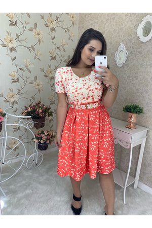 Vestido Boneca Simone