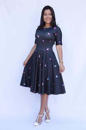Vestido Midi Planetario