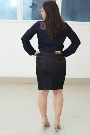 Saia Jeans Danielle