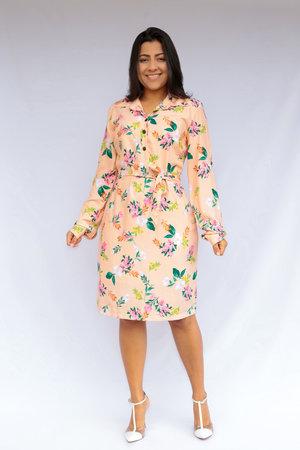 Vestido Flores Fofa