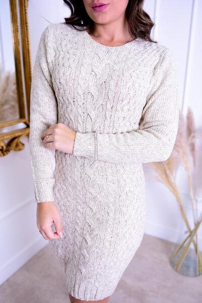 Vestido Tricot Texturizado