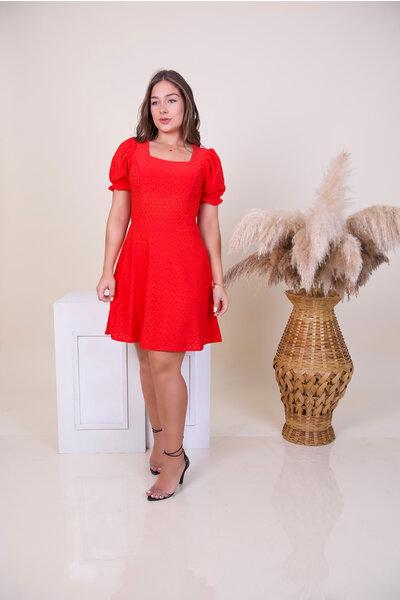 Vestido Lese Rodado