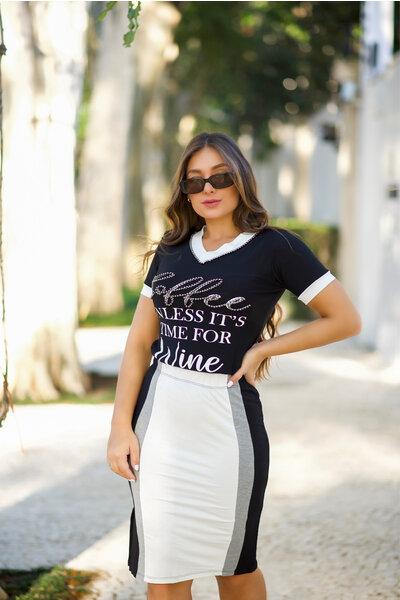 Conjunto Black & White