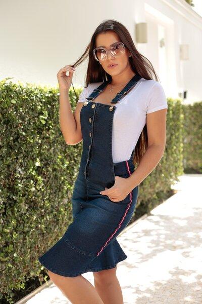 Jardineira Jeans Louise
