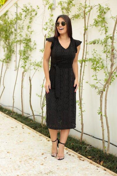 Vestido Lese Black