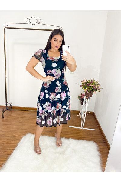 Vestido Midi Tarsila