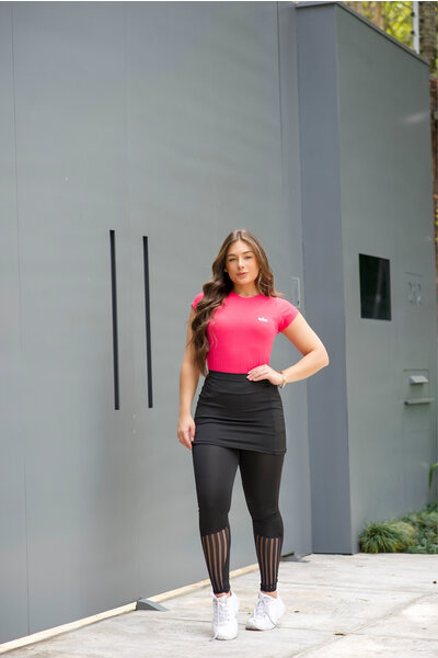 Conjunto Fitness Clara Pink