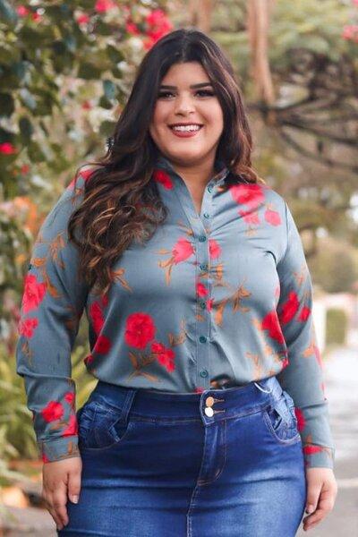 Blusa Flores Do Amanhacer