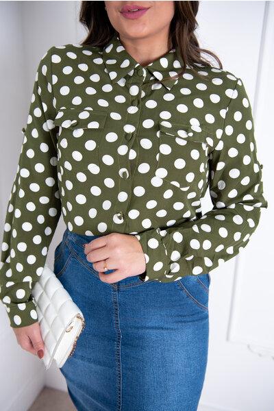 Camisa Poá Solange