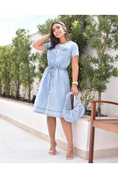 Vestido Jeans Isabela