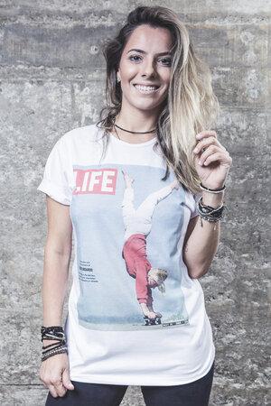 Camiseta Skate Lady Raiz