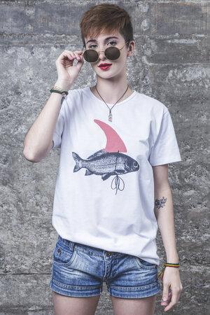 Camiseta Shark Costume
