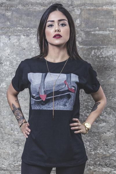 Camiseta Power Girl