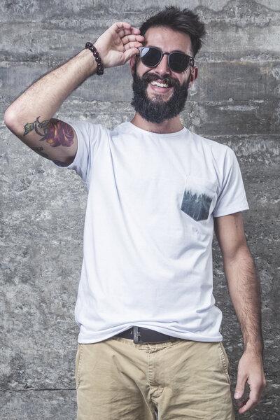 Camiseta Bosque Pocket