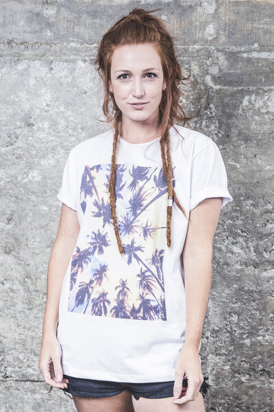 Camiseta Palm Trees Guache