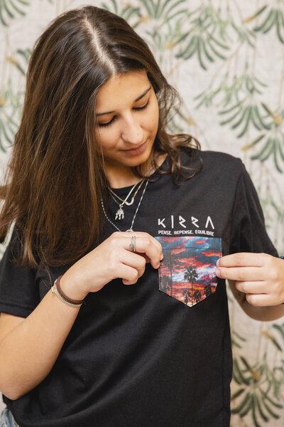 Camiseta Sunset Pocket