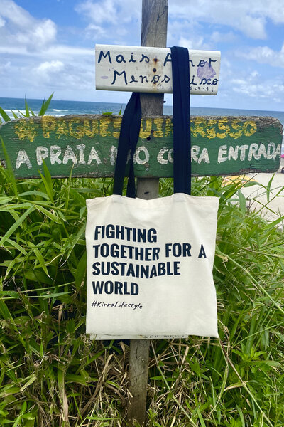 Eco Tote Bag Fighting Together