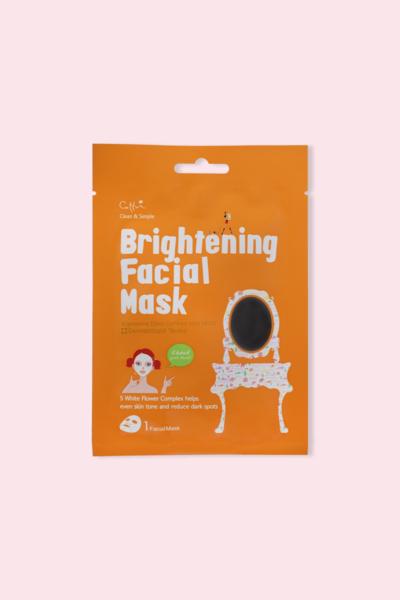 Cettua Clean & Simple Máscara Facial Brightening 20g