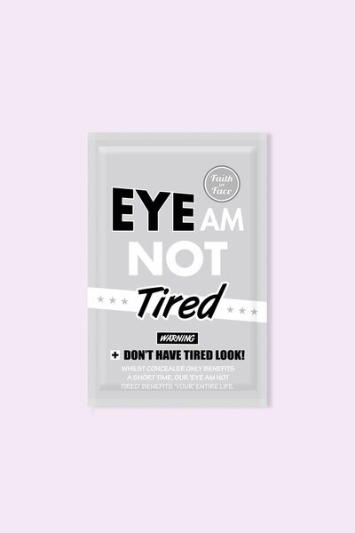 Faith In Face Máscara para Olhos Eye Am Not Tired Eye Patch 12g