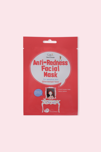 Cettua Clean & Simple Máscara Facial Anti-redness 20g
