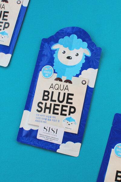 L'affair Máscara Facial Aqua Blue Sheep 25g