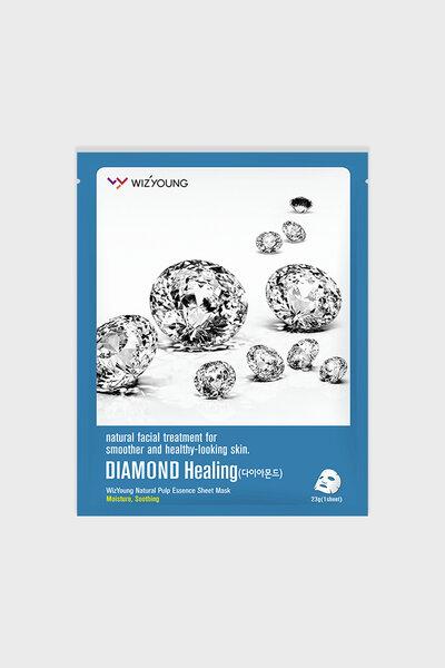 Wizyoung Máscara Facial de Colágeno de Diamante 23g