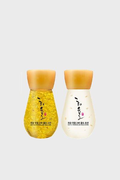 Lebelage Kit Premium Loção e Tônico de Ouro 24K 30ml