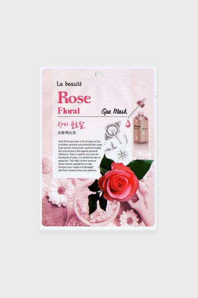 La beaute' Máscara Facial Spa Rose Floral 25g