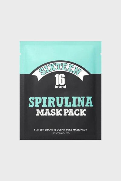 16 Brand Máscara Facial de Espirulina 25g