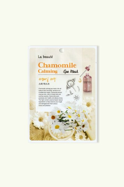 La beaute' Máscara Facial Spa Chamomile Calming 25g